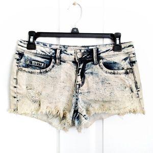 Sneak Peek Los Angeles Distressed Jean Shorts